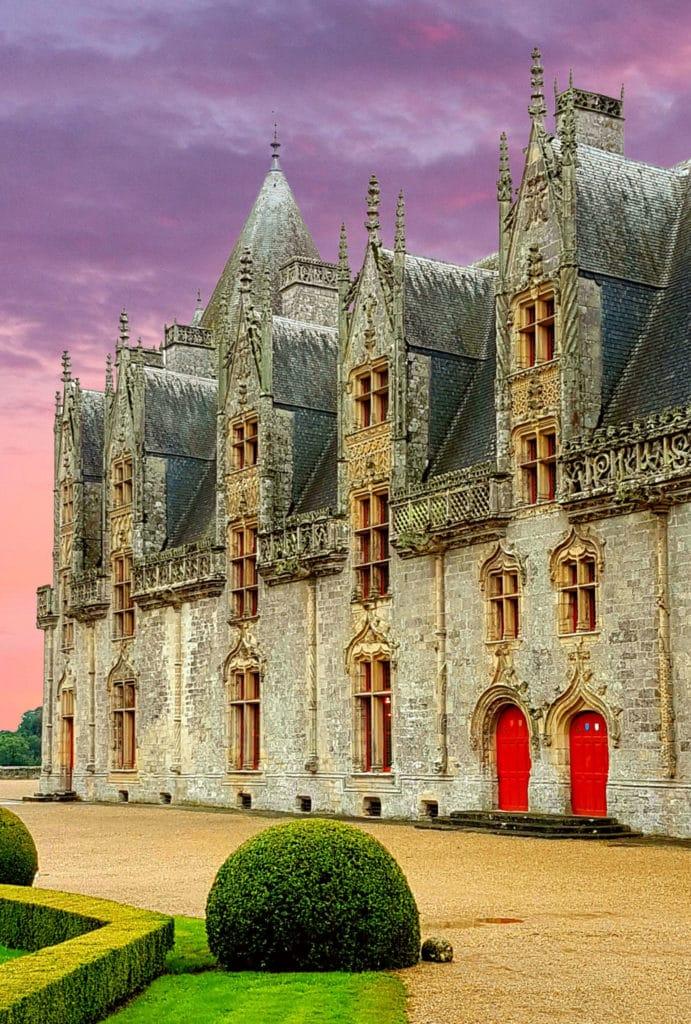 Château de Josselin en Brocéliande - Josselin toursime / Hotel / Camping à Josselin - Récits de Voyage