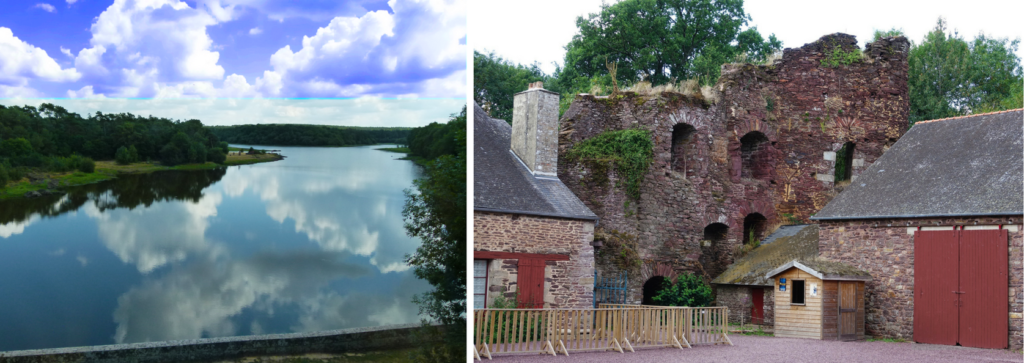 Chateau de Compers, Pays de Brocéliande