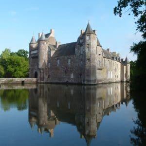 Château de Campénéac, à Trécesson